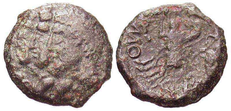 Northeast Gaul, Remi. Ca. 60/50-30/25 B.C. Æ 15.