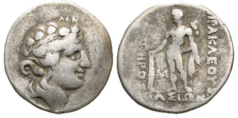 Islands off Thrace, Thasos. after 146 B.C. AR tetradrachm.