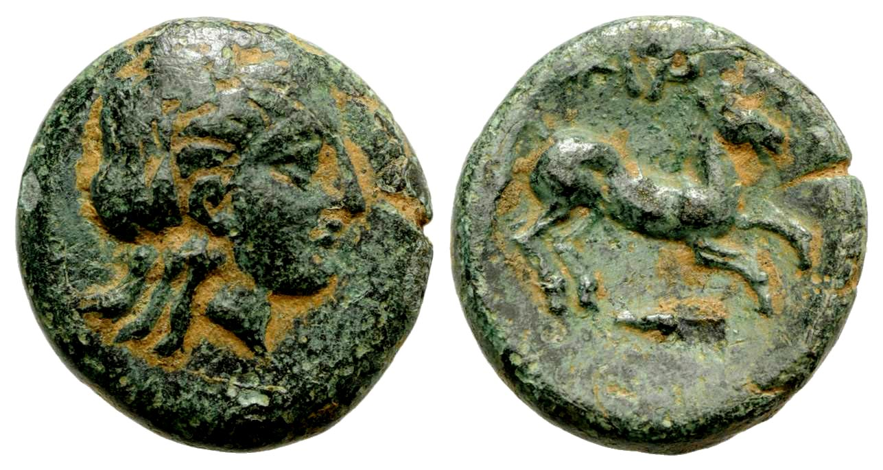 Troas, Gargara. Ca. 400-284 B.C. AE.