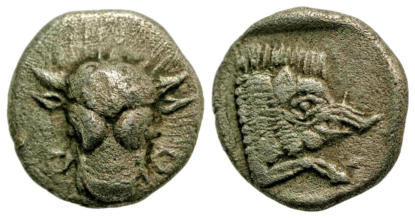 Phokis, Federal coinage. Ca. 478-460 B.C. AR diobol.