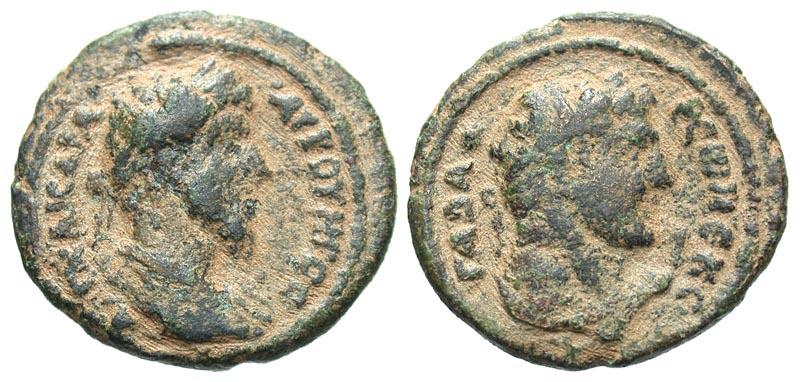Syria, Decapolis. Gadara. Lucius Verus. A.D. 161-169. Æ 28. Dated CY 225 = A.D. 161-162.
