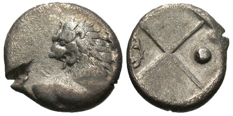 Thrace, Cherronesos. Ca. 400-350 B.C. AR hemidrachm.