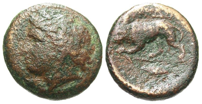 Thrace, Kardia. Ca. 350-309 B.C. Æ 20.