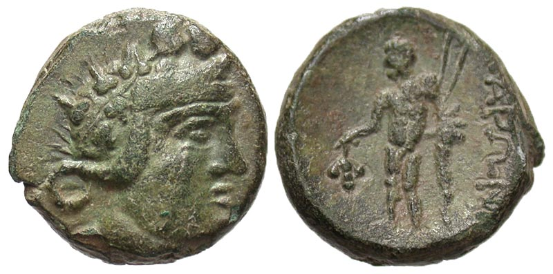Thrace, Maroneia. after 146 B.C. Æ 16.