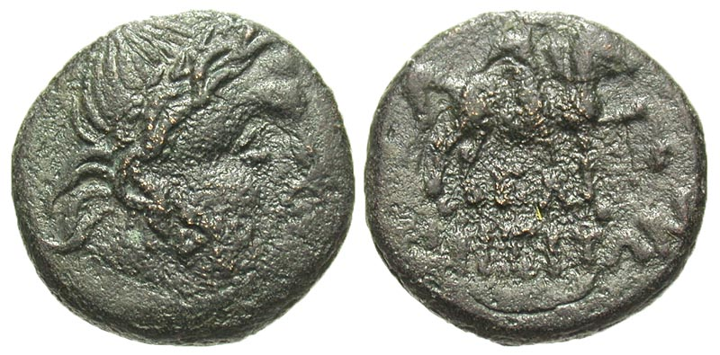 Thrace, Odessos. 3rd-2nd century B.C. Æ 19.
