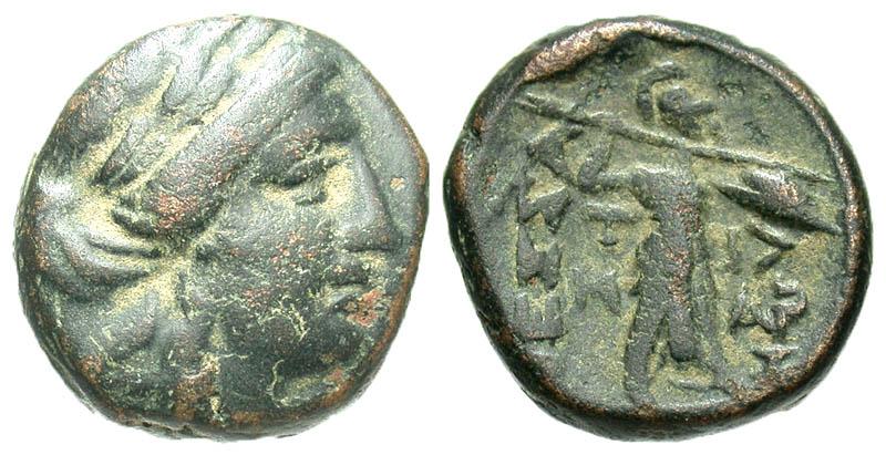 Thessaly, Thessalian League. Ca.196-27 B.C. Æ trichalkon.