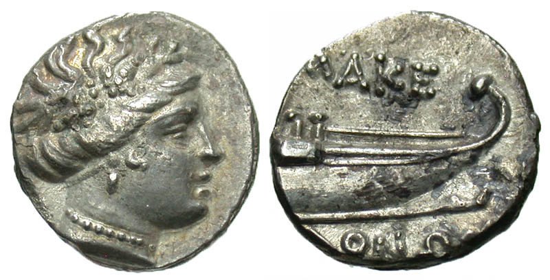 Macedonian Kingdom. Time of Philip V and Perseus. Ca. 221-168 B.C. AR tetrobol. Uncertain Macedonian mint, 187-168 B.C.